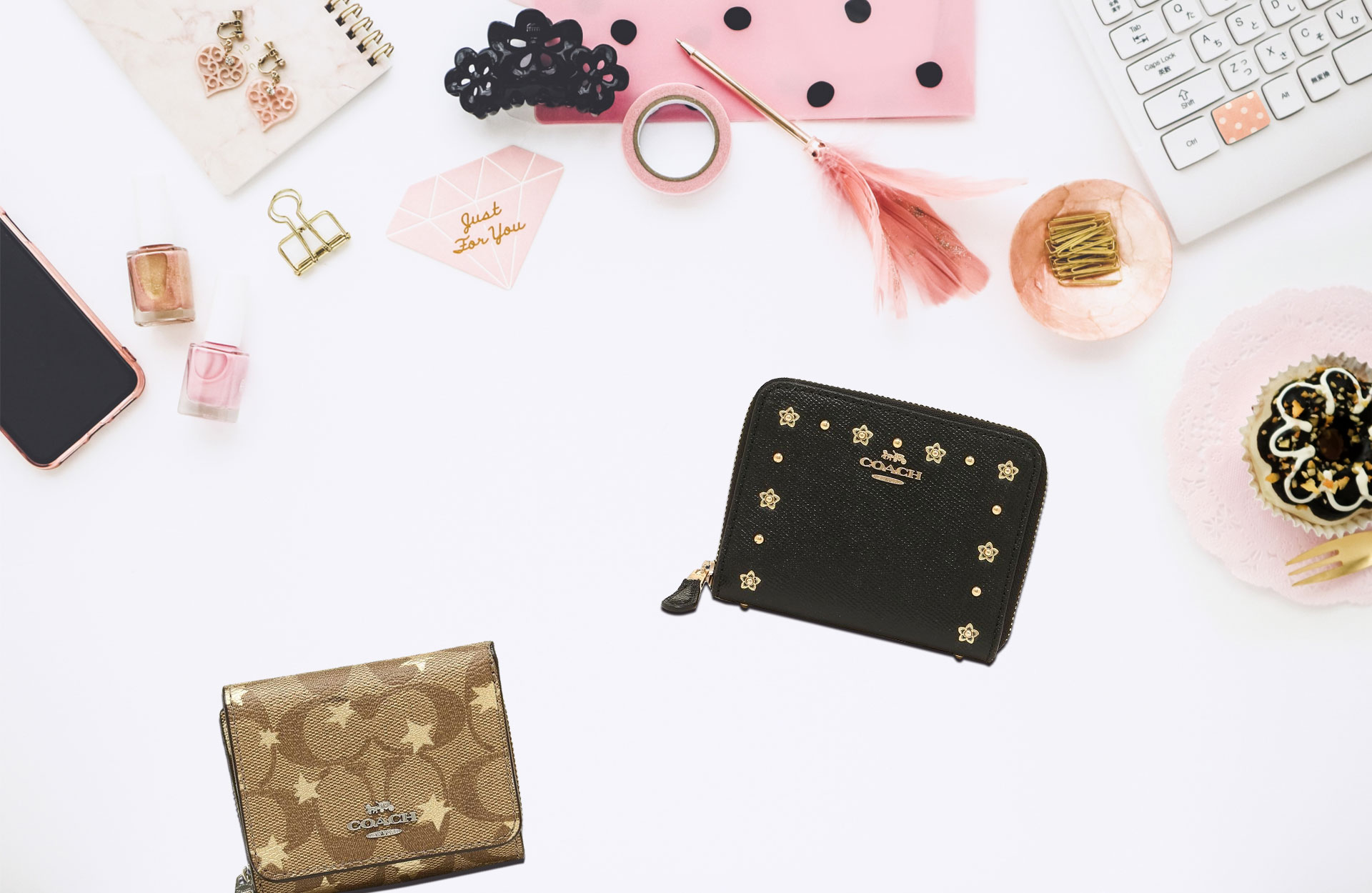 release date: a8093 7b9c3 お手頃価格が嬉しい!COACH(コーチ)の人気ミニ財布が活躍する ...