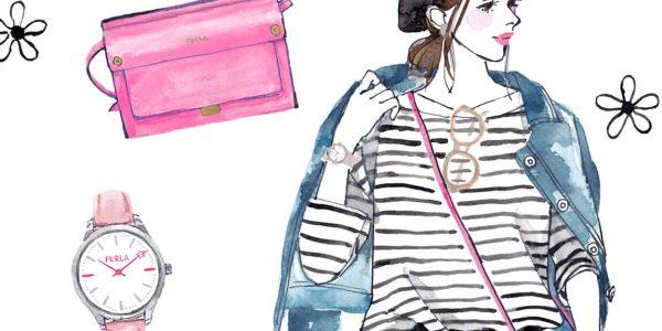 AXES STYLE VOL.18『忙しいママに!FURLA(フルラ) LIKEのお財布ショルダー』