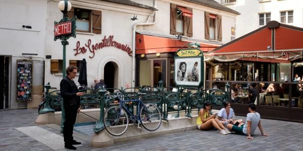 ヨーロッパ写真日和VOL.90『フランス初、デジタル美術館のノマドカフェ』